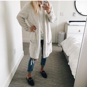 Light grey cardigan